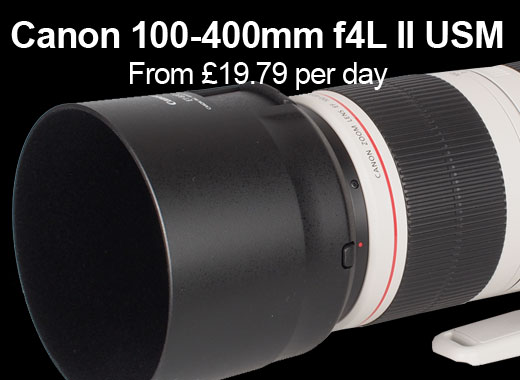 Canon 100-400mm IS USM for hire