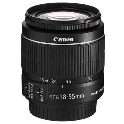 Canon EF-S 18-55mm f3.5-5.6 IS II Lens