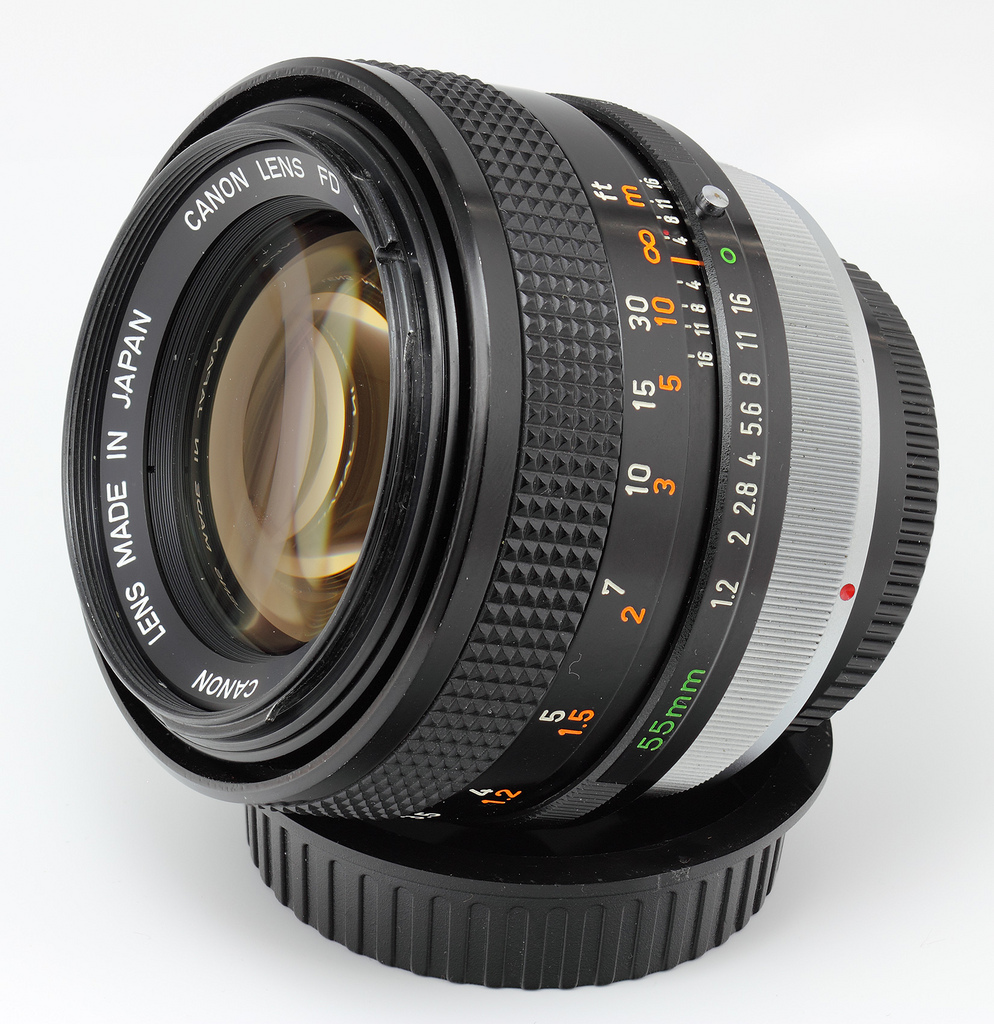 Canon FD 55mm f/1.2 S.S.C. Aspherical Lens (radioactive)