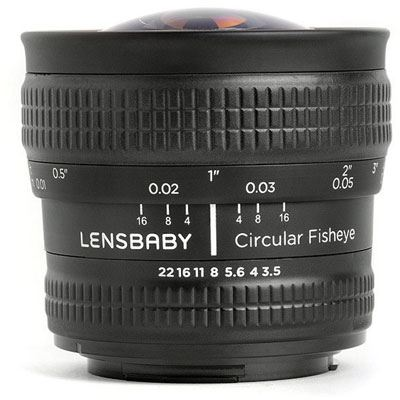 Lensbaby Circular Fisheye - Canon Fit